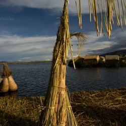 Uros island, Lake Titicaca