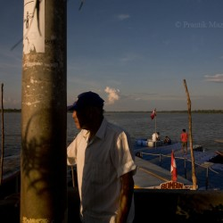 Yarinacocha, small fishing village on river Ucayali, Peruvian Amazon