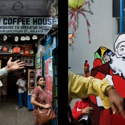 Two Calcutta institutions; Coffee House on College Street and Nandan, Bengal Film Center