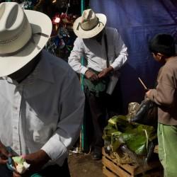 Antigua, market near the bus terminus