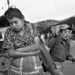 Near the bus terminus, Antigua, Sacatepequez