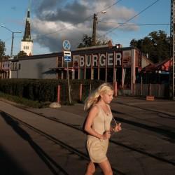 Tallinn, Estonia – near the train station in Kalamaja neighborhood