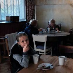 Tallinn, Estonia – cafe in Kalamaja neighbourhood