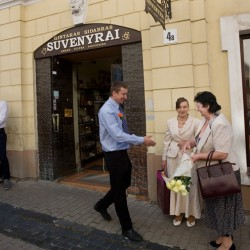 Vilnius, Lithuania – wedding crowd