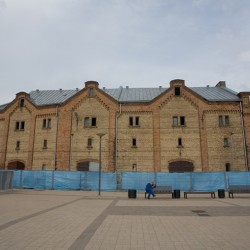 Riga, Latvia – an old factory turned into art gallery